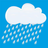 Rain clouds — Stock Vector
