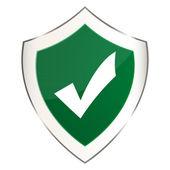 Medieval shield — Stock Vector