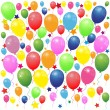 Colored balloons — Stock Vector
