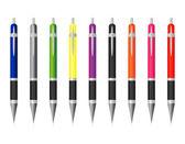 Set of colored pens — Vecteur