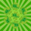 Royalty-Free Stock Vector Image: Clover symbol of St. Patrick\'s Day
