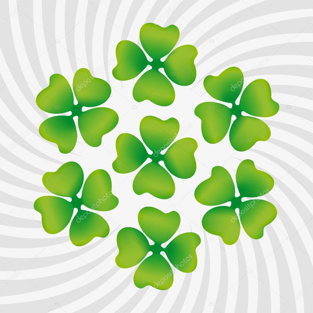 Clover symbol of St. Patrick's Day — Stock Vector #19890325