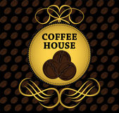 Coffee house — Vector de stock