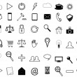 Set business icons for website — ベクター素材ストック