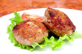Meat cutlet — Stock Photo