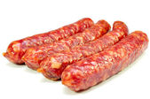 Smoked sausages — Stock Photo