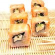 Japanese classic California Roll — Stock Photo