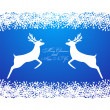 Merry Christmas background with snowflakes, — Stock Vector #33225227