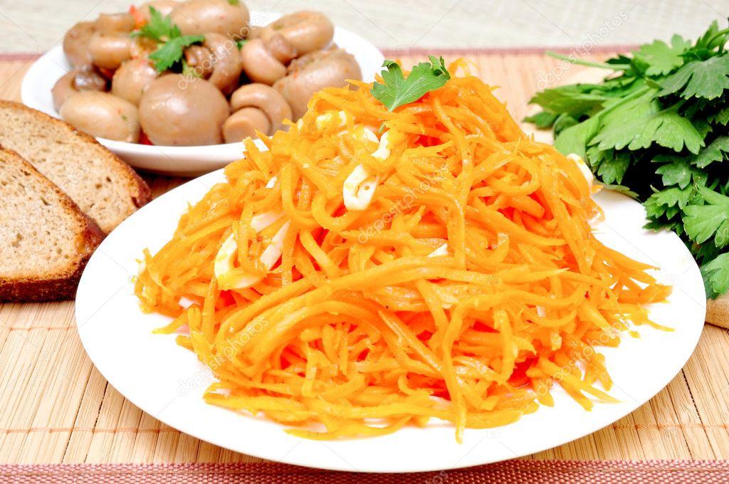 Можно есть корейскую морковку при диете