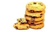 Cookies met chocolade — Stockfoto