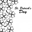 Postcard St. Patrick's Day — Stock Vector