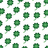 Background of green clover — Stock Vector