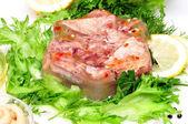 肉冻 — 图库照片