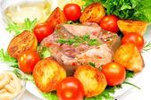 Chlebak z mięsa — Zdjęcie stockowe