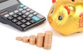 Home financial — Stock fotografie