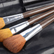 Brush set on white background — Stock Photo