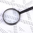 Stock Photo: Financial data