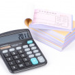 Notebook and calculator — Stock Photo #12896459