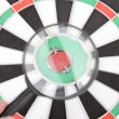 Royalty-Free Stock Photo: Magnifier and dartboard