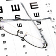 Eye chart — Stock Photo #12915375