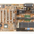 Computer main board — Stock Photo
