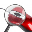 Computer mouse and magnifier — Stock Photo #13150545