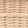 Weave wicker basket — Stock Photo