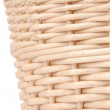 Weave wicker basket — 图库照片