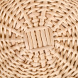 Weave wicker basket - Stock Photo