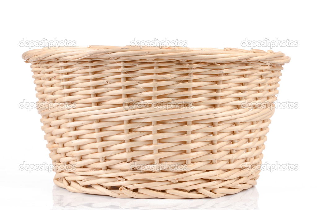Weave wicker basket — Stock Photo #13152813