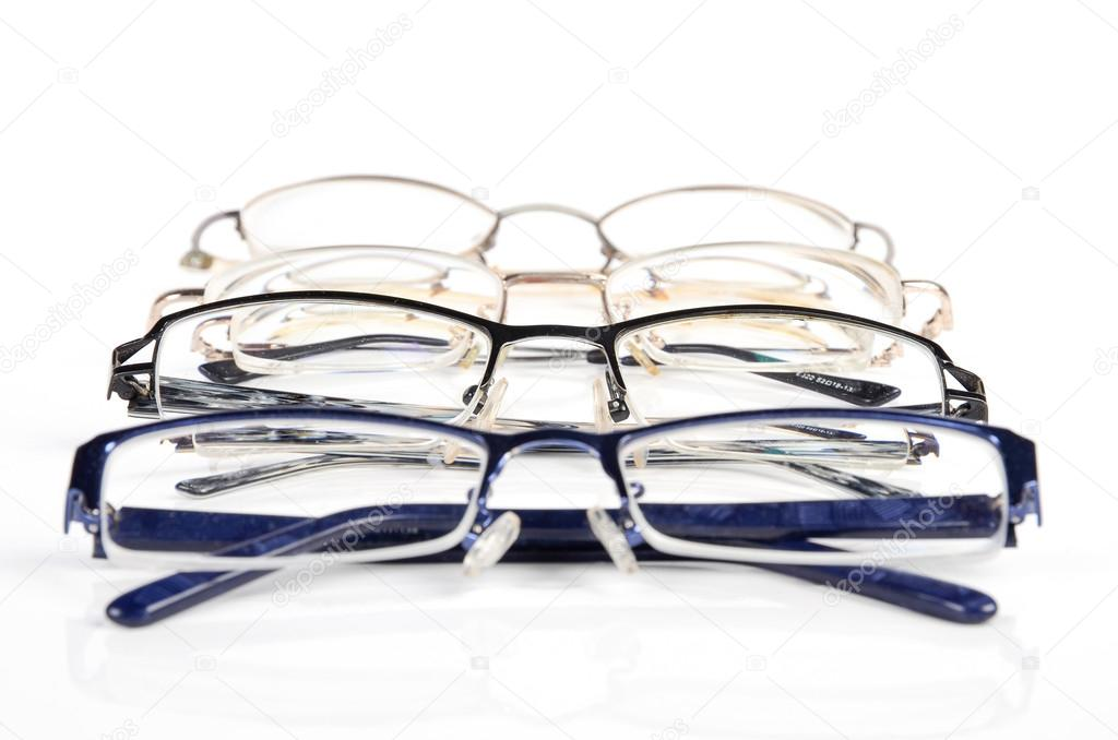 Four glasses on white background — Stock Photo #13198736