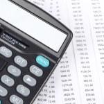 Financial data — Stock Photo #13215520