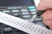 Dati finanziari — Foto Stock