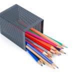 Steel mesh brush pot — Stock Photo #13505986