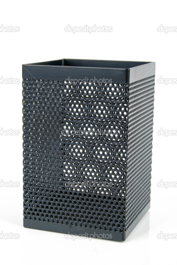 Steel mesh pen stand  Stock Photo #13564140