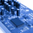 Blue PCB — Stock Photo #13718749