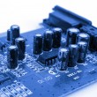Blue PCB — Stock Photo #13718771