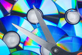 Cutting disks — Stock Photo