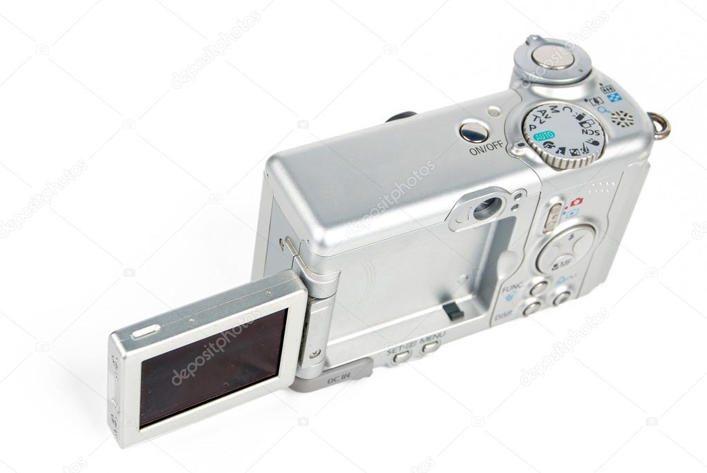 Camera isolated on white background — Stock Photo #13774888
