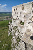 Ruins of Spis Castle — Stock Photo