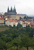 Vista del castello di praga — Foto Stock
