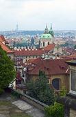 Saint Nicolas church in Prague — Stock Photo