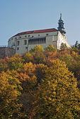 Château de Nitra en automne, Slovaquie — Photo