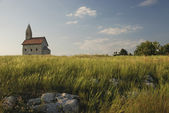 Romanesque church Saint Michael on the rock — Foto Stock