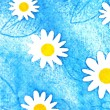 Stock Photo: Painted daisies