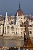 匈牙利布达佩斯议会 — 图库照片