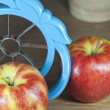 Apple slicer tool - Stock Photo