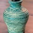 Stock Photo: Turquoise vase of terracotta