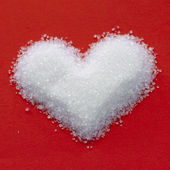 Valentine sugar heart — Stock Photo