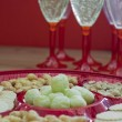 Snacks and champagne — Stock Photo #18877677